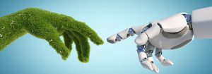 Nature,And,Technology,Abstract,Concept,,Robot,Hand,And,Natural,Hand
